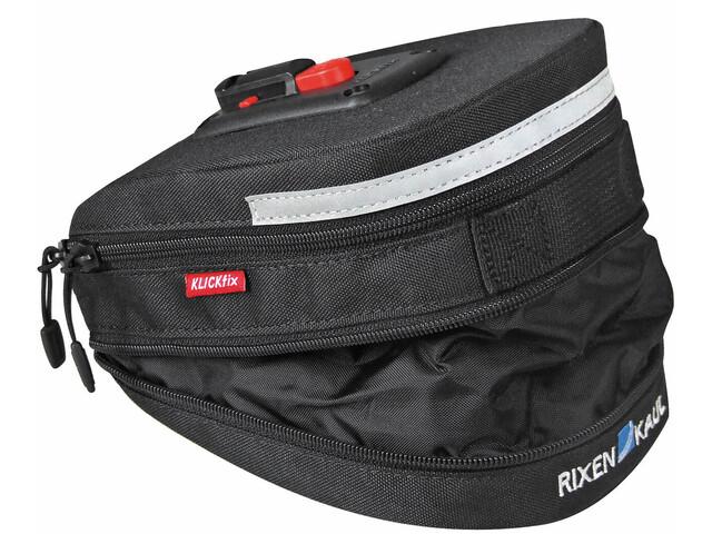 KlickFix Micro 200 Seat Post Bag Expandable black